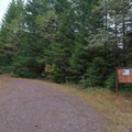 Limited information on the plaque at the trailhead.- Pechuck Lookout