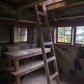 Ladder accessing the cupola.- Pechuck Lookout