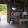 A few communal amenities and supplies.- Pechuck Lookout