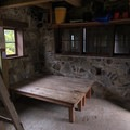 The tables/bunks available.- Pechuck Lookout