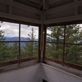 View to the southwest from the cupola.- Pechuck Lookout