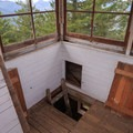 Small trap door access to cupola.- Pechuck Lookout