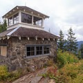 The only stone lookout left in Oregon.- Pechuck Lookout