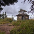 Saying farewell to the lookout.- Pechuck Lookout