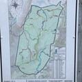 A map of the Dolly Sods Wilderness.- Big Stonecoal + Red Creek Loop