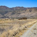 While the area is surrounded by mountains, Washoe Lake State Park itself is mostly flat. The observation deck makes one of the only raised landmarks in the wetlands area.- Wetlands Loop