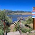 Lakeshore access at Little Washoe Lake.- Washoe Lake State Park