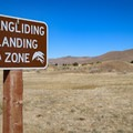 Hangliding is one of the recreational opportunities inside the park.- Washoe Lake State Park