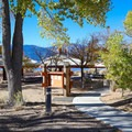 The park has a reservable group use area.- Washoe Lake State Park