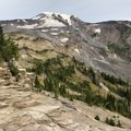 Views opening up along the trail.- Mount Adams Circumambulation