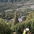 Bushwhacking on the Mount Adams Circumambulation.- Mount Adams Circumambulation