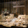 A large model depicts Fort St. Louis, which was built on top of Starved Rock. - Starved Rock State Park