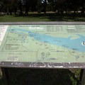 Large park maps are placed strategically throughout the park. - Starved Rock State Park