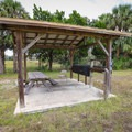 Picnic and day-use area.- Crystal River Preserve State Park