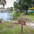 The park has a canoe/kayak launch into the Crystal River, located near the visitor center.- Crystal River Preserve State Park