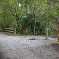 The campground contains a dump station available to campers.- Lake Griffin State Park Campground