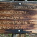Well marked trail.- Lake Dorothy