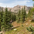 Once you step away from the main trail, there are not many people around, and you can find pretty secluded camp spots.- Neva Backcountry Zone