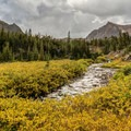 Fall arrives early in the backcountry.- Neva Backcountry Zone