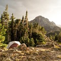 There are many secluded camping spots around the area.- Neva Backcountry Zone
