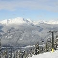 Whistler Mountain was once in the park, but in 1987 it was rezoned into it's own area. - Garibaldi Provincial Park
