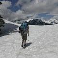 Stopping up Diamondhead in June conditions.- Garibaldi Provincial Park