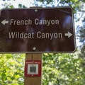 A QR code is provided for help identifying location in an emergency.- French Canyon