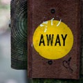Signs help hikers with direction on  the intertwining trails.- French Canyon