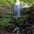 Fairy Falls after a good rain.- Fairy Falls