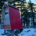 Outhouse.- BCMC Watersprite Hut