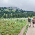 Many folks will do a two- or three-day backpacking trip from Rubble Creek to Helm Creek or vice a versa. - Garabaldi Lake