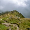Even when the weather rolls in there are incredible landscapes.- Eggishorn to Bettmeralp