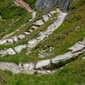 The descent to Bettmeralp is steep and has plenty of switchbacks, but the trail is very well maintained.- Eggishorn to Bettmeralp
