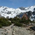 Wedgemont Lake Hut.- Garibaldi Provincial Park