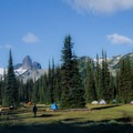 Black Tusk as seen from Helm Creek.- Garibaldi Provincial Park