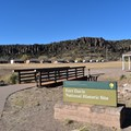 The entrance to Fort Davis National Historic Site.- Fort Davis National Historic Site