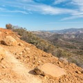 The trail is quite rugged and has sections of loose gravel.- Lawson Peak