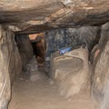 The cave near the summit of Lawson Peak.- Lawson Peak