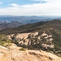 View to the south from the summit of Lawson Peak.- Lawson Peak