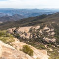 View to the southeast from Lawson Peak.- Lawson Peak