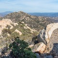 View to the north from the summit of Lawson Peak.- Lawson Peak