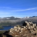 Summit view.- Marion Mountain via Marion Lake