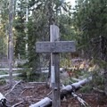 Continue on the Pine Ridge Trail from this point.- Marion Mountain via Marion Lake