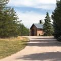 Restrooms are convenient.- Bessey Recreation Complex + Campground