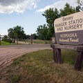 The Bessey Nursery is adjacent to the campground. - Bessey Recreation Complex + Campground