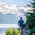 Stunning views from Garabaldi Lake.- Garabaldi Lake