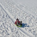 Sledding on the sand dunes is encouraged. You can buy a sled at the visitor center gift store. - White Sands National Monument Dispersed Campsites