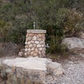 Water station in the campground.- Pine Springs Campground