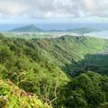 Koko Head in Hawai'i Kai from the Ko'olau West Ridge.- Kuliouou West Loop