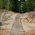 Steps to Mosquito Beach.- Chapel Falls to Mosquito Falls Loop